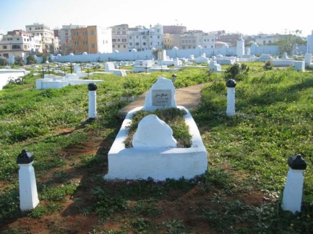 jean genet's grave at the larache cemetry, marocco. found via findagrave.com